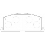 Фото колодки тормозные дисковые kashiyama d2023 (a-113) колодки дисковые