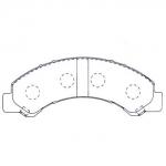 Фото колодки тормозные дисковые kashiyama d4052 (a-617) колодки дисковые