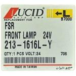 Фото повторитель поворота isuzu forward '86-'99 (lucid 213-1616l-y) левый габарит / поворотник