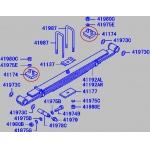 Фото отбойник рессоры (подрессорник) zevs sb-4546 (mc114546) -  mitsubishi canter подрессорники и опоры