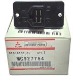 Фото резистор (реостат) печки mitsubishi mc927754 резистор