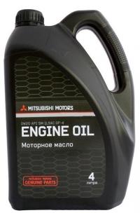 масло моторное mitsubishi sm 0w-20 (4л)