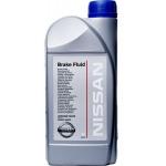 Фото тормозная жидкость nissan brake fluid dot-iv (1л) тормозные жидкости