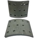 Фото тормозные накладки rca ibk gl z3706-1501/2 (t370-1501 / t370-1502) колодки барабанные