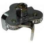 Фото ключ масляного фильтра «краб», плоские лапы (d 63-102 mm) съемник фильтров