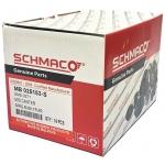 Фото втулка рессоры резиновая mitsubishi canter mb025153 (22x39.5 h46.5) schmaco sms-0271 втулки и сайлентблоки