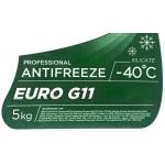 Фото антифриз sintec euro g11 -40°c зеленый. 5кг. охлаждающая жидкость
