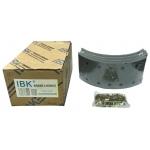Фото тормозные накладки t320-1102. ibk (4 шт, с клепками) колодки барабанные
