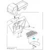 Фото ступенька подножки api iz07-1900-01 - isuzu elf '93-'06 (правая) подножки (ступеньки)