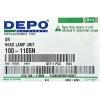 фара универсальная depo 100-1105n (h1)