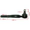 Фото рулевой наконечник febest 0221-023 (nissan 48521-2t025) правый рулевые наконечники