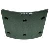 Тормозные накладки G-Brage GL-6202  T320-1202 (8 шт. С клепками)