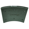 Фото тормозные накладки g-brage gl-6202  t320-1202 (8 шт. с клепками) колодки барабанные
