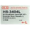 Фото ручка двери hs-3404l - mitsubishi fuso canter '02~'11 наружная левая. ручки двери