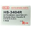 Фото ручка двери hs-3404r - mitsubishi fuso canter '02~'11  наружная правая. ручки двери