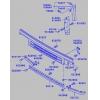 Фото решетка радиатора tong yang mb07057gb (ty-mc917772) - mitsubishi fuso '92-'94 (нижняя) решетка радиатора