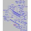 Фото решетка радиатора tong yang mb07073ga - mitsubishi fuso '95-'97 (нижняя) решетка радиатора