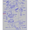 Фото резистор (реостат) отопителя mitsubishi fuso canter - me733584 резистор