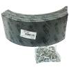 Фото тормозные накладки ootoko 1611l09 (320-1100) 4 шт. с клепками колодки барабанные