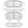 Колодки тормозные дисковые NIBK PN-3502(M) (A-651)