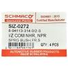 Фото втулка рессоры резиновая schmaco siz-0272 - isuzu elf (22x39 h40) втулки и сайлентблоки