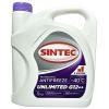Антифриз Sintec Unlimited G12++ (Lobrid) -40°C (5kg) фиолетовый