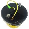 Фото габаритный фонарь универсальный silver light 41-041-f / 12016y (желтый) бортовые габариты