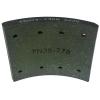 Фото тормозные накладки zevs z3204-1308 (rca ibk gl t320-1308) 8 шт. колодки барабанные