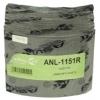 Фото тормозные накладки 320-1151. asuki anl-1151r (8 шт. с клепками) колодки барабанные