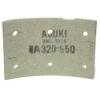 Фото тормозные накладки 320-950. asuki anl-1950. (8 шт. с клепками) колодки барабанные