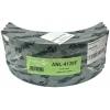 Фото тормозные накладки asuki anl-4120f (комплект 4 шт). с клепками колодки барабанные