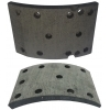 Тормозные накладки IBK T370-1201 T370-1202 (8 шт. с клепками)
