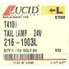 Фото фонарь задний lucid 216-1903l - mazda titan '84-'94 2-х цветный, левый стоп-сигнал