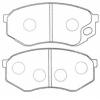 Колодки тормозные дисковые Masuma MS-3349 (A-427) 8 шт