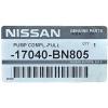 Фото топливный насос nissan 17040-bn805 в сборе с фильтром и датчиком датчики