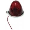 Фото габаритный фонарь для грузовиков 100-3004-r, универсальный, красный. бортовые габариты