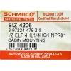Фото сайлентблок кабины schmaco siz-4206 - isuzu elf '99- (d45x120) втулки и сайлентблоки