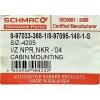 Фото сайлентблок кабины schmaco siz-4205 - isuzu elf (d45x90) втулки и сайлентблоки