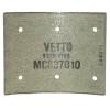 Фото тормозные накладки 320-1202. vetto. (8 шт. с клепками) колодки барабанные