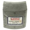 Фото тормозные накладки 320-1451. vetto. (8 шт. с клепками) колодки барабанные