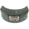 Фото тормозные накладки vetto v320-1100 (4 шт. с клепками) колодки барабанные