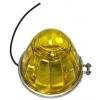 Габаритный фонарь грузовика 100-3004-Y универсальный, желтый
