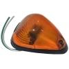 Габаритный фонарь Zevs 12003 на полуприцеп. Треугольный, оранжевый.