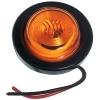 Габаритный фонарь Zevs 12008 на автопоезд/трэйлер. круглый, оранжевый.