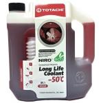 Фото антифриз totachi niro llc -50°c (красный) 2 литра охлаждающая жидкость