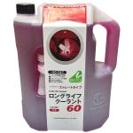 Фото антифриз totachi long life coolant 60 (красный) 4 литра охлаждающая жидкость