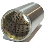 Фото втулка рессоры металлическая isuzu/hino «sp-25x30x68» втулки и сайлентблоки