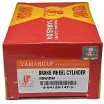 """Фото тормозной цилиндр рабочий yamasida. isuzu elf '90-'98 задний правый «f» (1"""")  с прокачкой. цилиндры тормозные рабочие"""