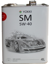 масло моторное yokki sm 5w-40 (4л)
