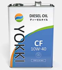 масло моторное yokki cf 10w-40 (4л)